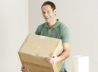 Moving firm worker